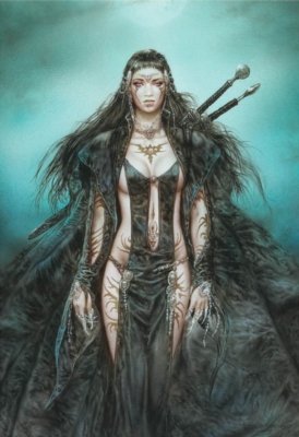 Luis Royo: The Daughter of the Moon - 1000pc Jigsaw Puzzle by Educa