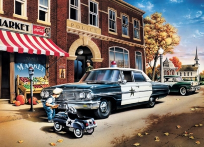 On the Beat - 1000pc Jigsaw Puzzle by Cobble Hill