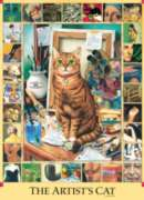 The Artist's Cat - 1000pc Jigsaw Puzzle by Cobble Hill