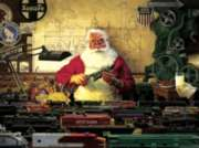 Santa and his Trains - 500pc Jigsaw Puzzle by Cobble Hill