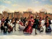 Skating Party - 275pc Large Format Jigsaw Puzzle by Cobble Hill