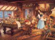 Snow White and the Seven Dwarves - 400pc Family Style Jigsaw Puzzle by Cobble Hill