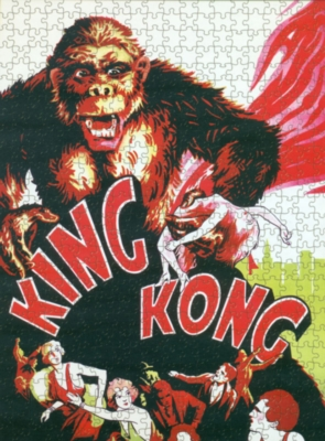 King Kong - 1000pc Jigsaw Puzzle by Culturenik