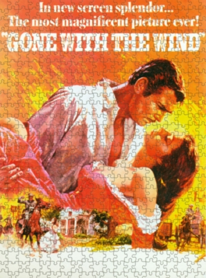 Gone With The Wind, Classic - 1000pc Jigsaw Puzzle by Culturenik