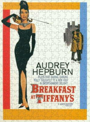 Breakfast At Tiffany's, Classic - 1000pc Jigsaw Puzzle by Culturenik