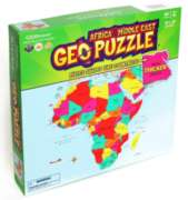Africa & The Middle East - 65pc Geographical Puzzle by GEO Puzzle