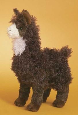 Choco Llama - 11'' Llama By Douglas Cuddle Toys