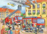 Jigsaw Puzzles for Kids - Fire Department