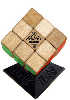 Rubik's 3 x 3 30th Anniversary Wood Edition Cube