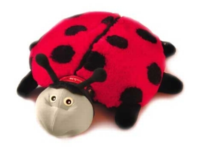 Lilly (Plush / Pillow / Blanket) - 15&quot; Ladybug by Zoobie Pets