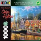 Ships Aglow - 1000pc TDC Eco-Friendly Jigsaw Puzzle