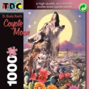 Coyote Moon - 1000pc TDC Eco-Friendly Jigsaw Puzzle