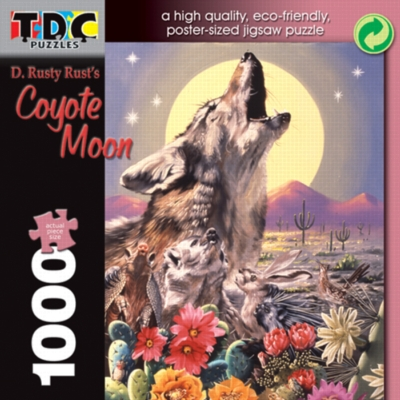 Jigsaw Puzzles - Coyote Moon