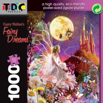 Fairy Dreams - 1000pc TDC Eco-Friendly Jigsaw Puzzle