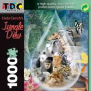 Jungle Dew - 1000pc TDC Eco-Friendly Jigsaw Puzzle