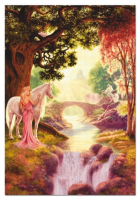 Unicorn Valley - 1500pc Jigsaw Puzzle by Educa