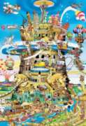 Babel Tower - 1500pc Jigsaw Puzzle by Educa