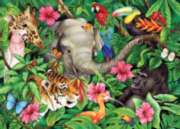 Tropical Friends - 60pc Jigsaw Puzzle by Ravensburger