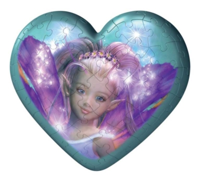 Fairies Hearts - 3 x 60pc Puzzleball Collection by Ravensburger