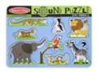 Zoo Animals - 8pc Interactive Sound Puzzle By Melissa & Doug
