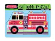 Fire Truck - 9pc Interactive Sound Puzzle By Melissa & Doug