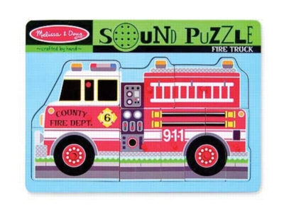 Sound Puzzles - Fire Truck