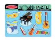 Musical Instruments - 8pc Interactive Sound Puzzle For Kids By Melissa & Doug