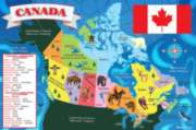 Canada Map - 48pc Floor Puzzle By Melissa and Doug
