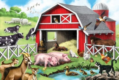 Melissa and Doug Floor Puzzles - Farm Friends
