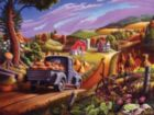 Taking Pumpkins to Market - 500pc Jigsaw Puzzle By Cobble Hill
