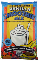 Big Train Vanilla No Sugar Added Smoothie Mix - 3.5 lb. Bulk Bag