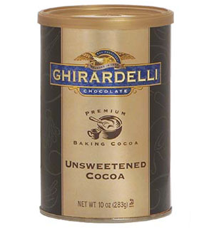 Ghirardelli Unsweetened Cocoa Powder - 10 oz. Can