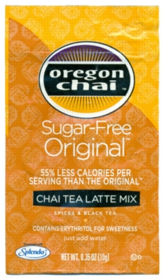 Oregon Chai Tea Mix: Original Sugar Free - Single Serve Packet