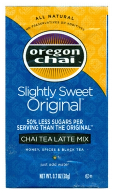 Oregon Chai Tea Mix: Slightly Sweet - Single Serve Packet