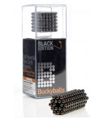 Bucky Balls Black Edition - 216 Powerful Earth Magnets