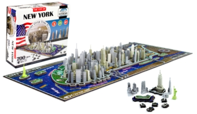 New York - 700pc 4D Cityscape Jigsaw Puzzle