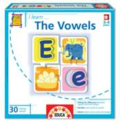 I Learn: The Vowels - 30pc Jigsaw Puzzle by EDUCA