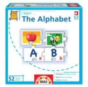 I Learn: The Alphabet - 52pc Jigsaw Puzzle by EDUCA