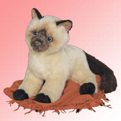 Tasha Himalayan - 16'' Cat by Douglas Cuddle Toys