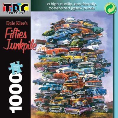 Jigsaw Puzzles - Fifties Junkpile