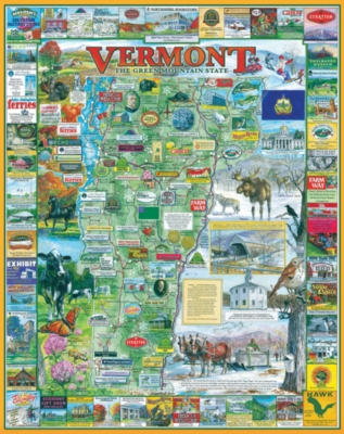 Vermont - 1000pc Jigsaw Puzzle by White Mountain