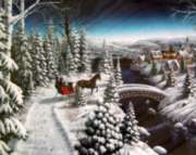 Sleigh Ride - 1000pc Jigsaw Puzzle by Springbok