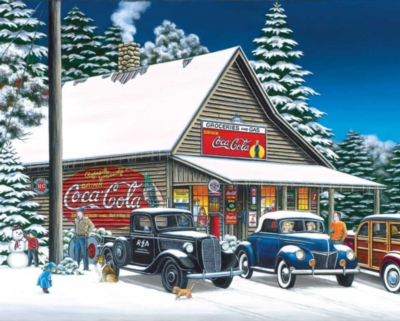 Joyful Times - 1500pc Coca-Cola Jigsaw Puzzle by Springbok