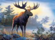 Jigsaw Puzzles - Hautman Brothers: Northwoods Moose