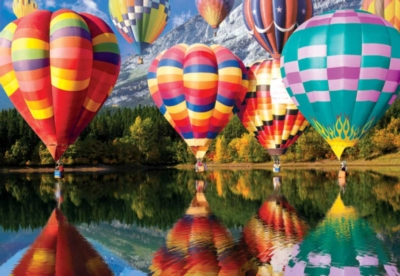 Balloons in Flight - 2000pc Jigsaw Puzzle by Buffalo Games