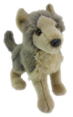Tyson Floppy - 16'' Wolf By Douglas Cuddle Toys
