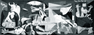 Guernica - 1000pc Miniature Panorama Puzzle by Educa