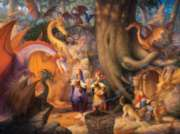 Confabulation Of Dragons - 1000pc Jigsaw Puzzle by Sunsout
