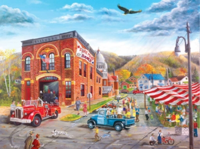Fireman's Ball - 1000pc Jigsaw Puzzle by Sunsout