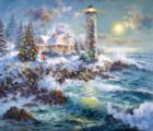 Lighthouse Merriment - 550pc Jigsaw Puzzle by Sunsout